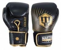 Rękawice bokserskie skórzane MASTERS GOLIAT 18 oz - RBT-18G