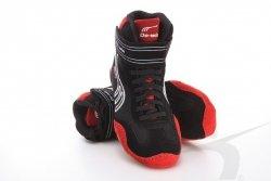 Buty zapaśnicze czarno-czerwone