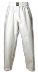 Spodnie  treningowe bawełna - białe