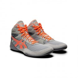 Buty Asics MatFlex 6 -szaro-pomarańczowe