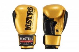 Rękawice bokserskie skórzane RBT-METALIC 10oz