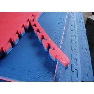Mata treningowa puzzle 1m x 1m x 2,5 cm z obrzeżami