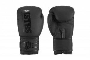 Rękawice bokserskie RPU-MATT czarne 12 oz