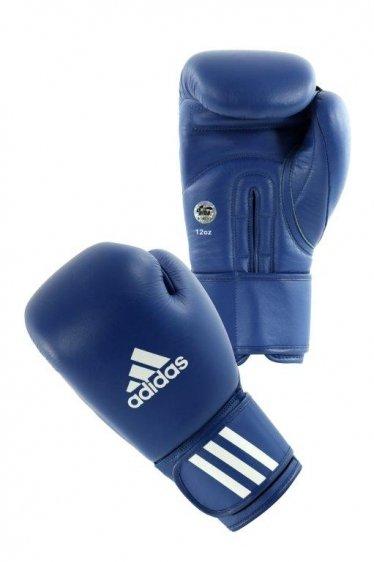 Rękawice bokserskie skórzane Adidas Aiba