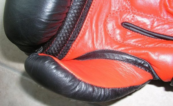 Rękawice bokserskie MASTERS - RBT-301 - skóra