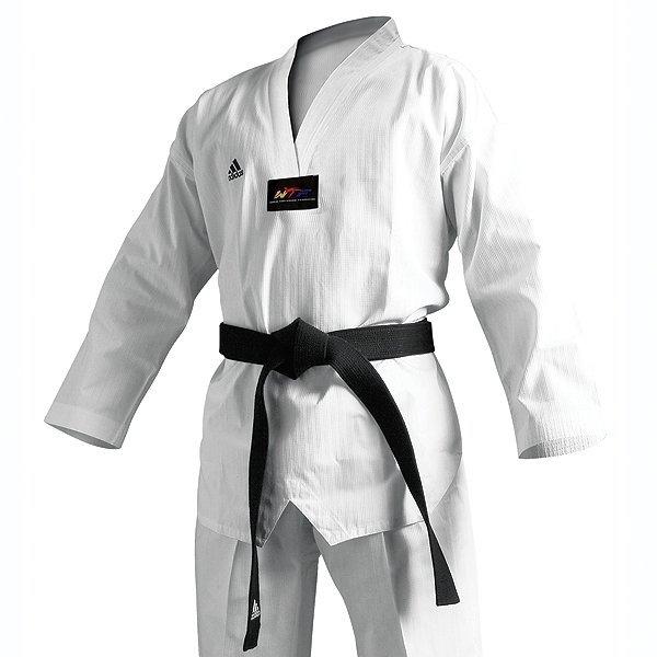 Dobok adidas WTF ADICHAMP 3 biała plisa