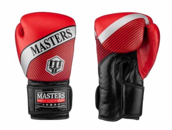 Rękawice bokserskie skórzane MASTERS RBT-8 10 oz