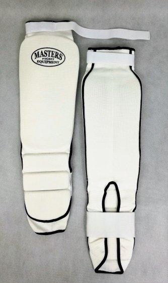 Nagolenniki elastyczne NS-B3 białe
