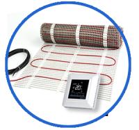 Maty grzewcze DEVIcomfort + termostat DEVIreg Opti
