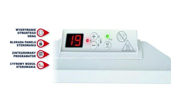 Grzejnik Basic Pro, termostat