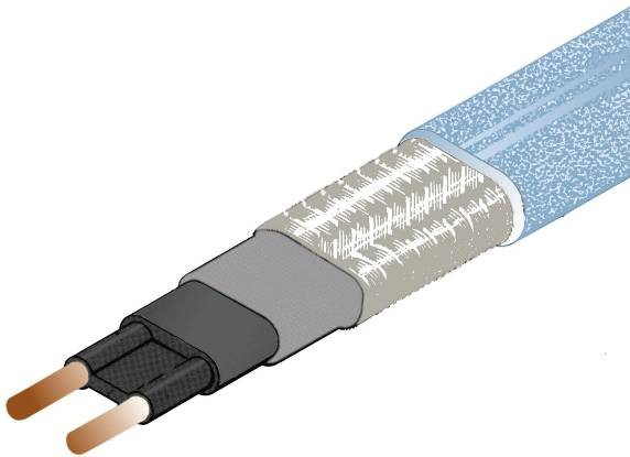 Kabel grzejny DEVI-pipeguard 10 - 10W dla 10°C; 1mb