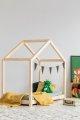 RM 80x160cm Łóżko dziecięce domek Mila ADEKO