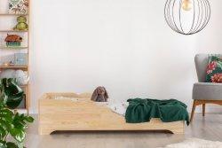BOX 11 80x150cm Łóżko drewniane dziecięce