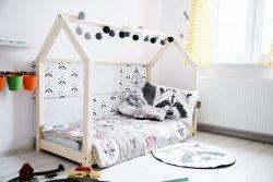Łóżko drewniane Mila M 80x140cm