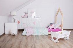 Łóżko drewniane Mila SM 80x140cm