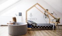 Łóżko drewniane Mila DMS 90x140cm