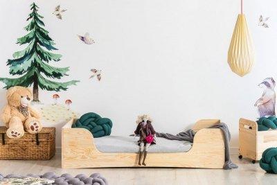 PEPE 6 80x150cm Łóżko drewniane dziecięce