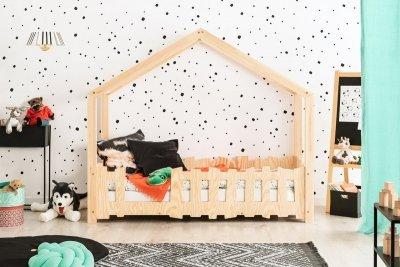 SELO B 70x140cm Łóżko dziecięce domek ADEKO