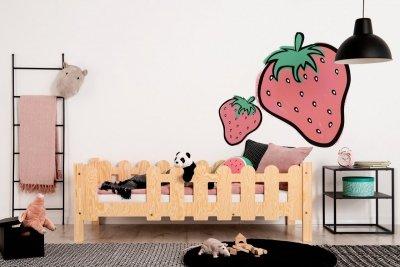 OLAF B 70x160cm Łóżko dziecięce domek ADEKO