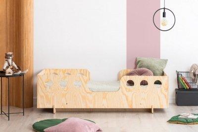 KIKI 15  80x180cm Łóżko dziecięce domek ADEKO