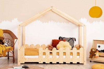ZIZI B 90x180cm Łóżko dziecięce domek ADEKO