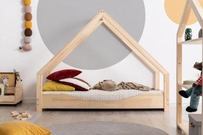 Loca E 80x170cm Łóżko dziecięce drewniane ADEKO