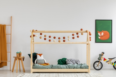 Mila MM 90x180cm Łóżko dziecięce domek ADEKO