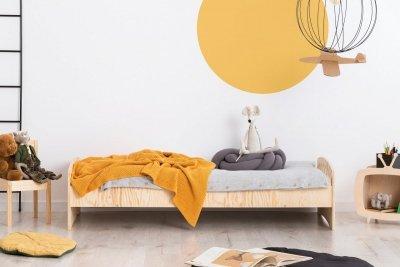 KIKI 11  80x150cm Łóżko dziecięce drewniane ADEKO