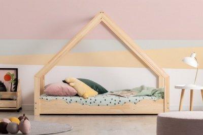 Loca D 70x180cm Łóżko dziecięce drewniane ADEKO