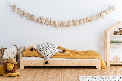 KIKI 2  90x160cm Łóżko dziecięce domek ADEKO