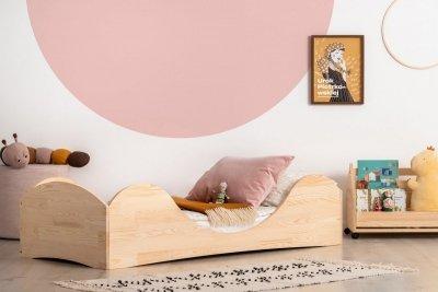 PEPE 1 80x170cm Łóżko drewniane dziecięce