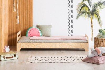 KIKI 12  80x150cm Łóżko dziecięce drewniane ADEKO