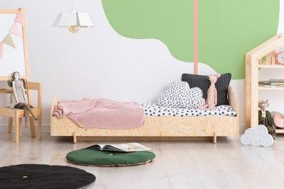 KIKI 7  90x170cm Łóżko dziecięce drewniane ADEKO