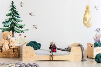 PEPE 6 80x140cm Łóżko drewniane dziecięce