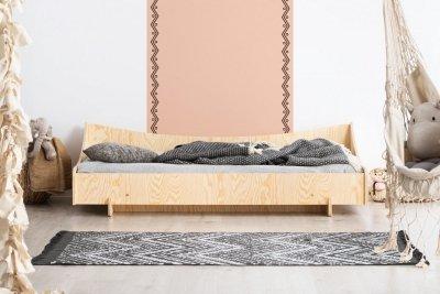 KIKI 8  70x160cm Łóżko dziecięce domek ADEKO