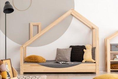 Luna E 80x150cm Łóżko dziecięce drewniane ADEKO