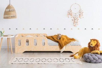 KIKI 6  80x170cm Łóżko dziecięce drewniane ADEKO