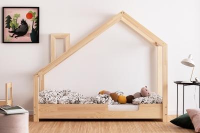 Luna C 70x150cm Łóżko dziecięce drewniane ADEKO