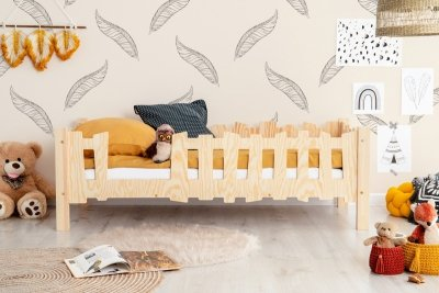 Pikko B 90x160cm Łóżko dziecięce domek ADEKO