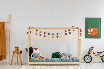 Mila MM 160x200cm Łóżko dziecięce domek ADEKO