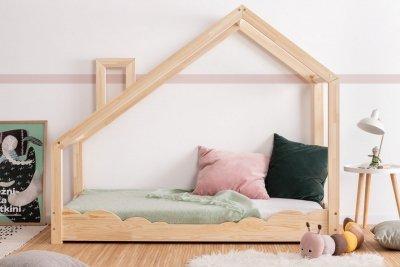 Luna D 70x170cm Łóżko dziecięce drewniane ADEKO