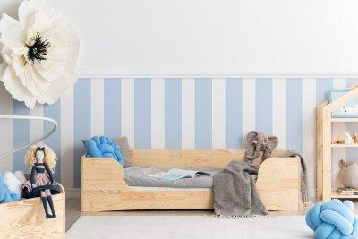 PEPE 4 60x120cm Łóżko drewniane dziecięce