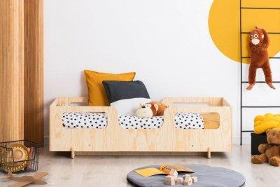 KIKI 17  80x180cm Łóżko dziecięce domek ADEKO