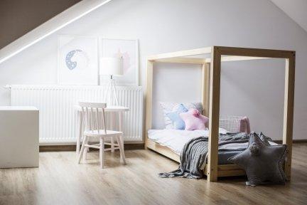 Łóżko drewniane Mila KM 135x190cm