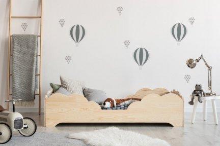BOX 10 80x200cm Łóżko drewniane dziecięce
