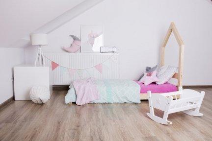 Łóżko drewniane Mila SM 80x180cm