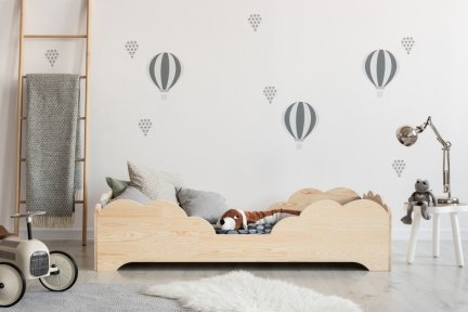 BOX 10 100x180cm Łóżko drewniane dziecięce