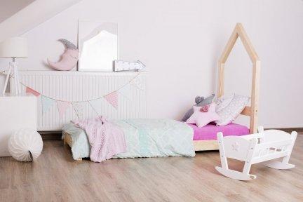 Łóżko drewniane Mila SM 80x200cm