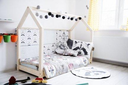 Łóżko dziecięce domek Mila M 80x140cm ADEKO
