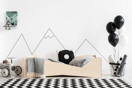 BOX 5 90x150cm Łóżko drewniane dziecięce